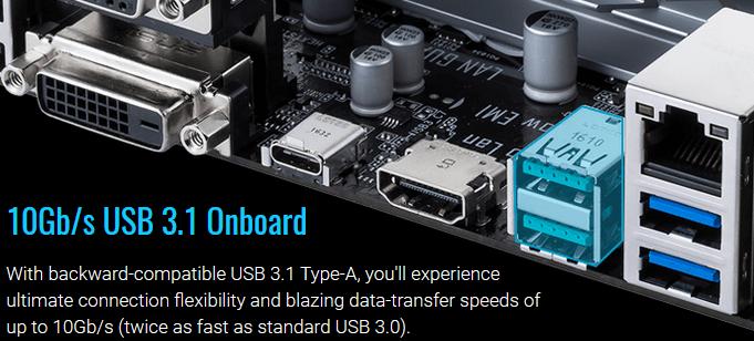 Computer Setup Guide ASUS USB 3.1 Gen2 Ports