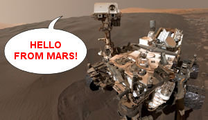 Curiosity Rover on Mars!