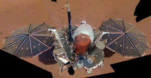 Insight Lander on Mars!